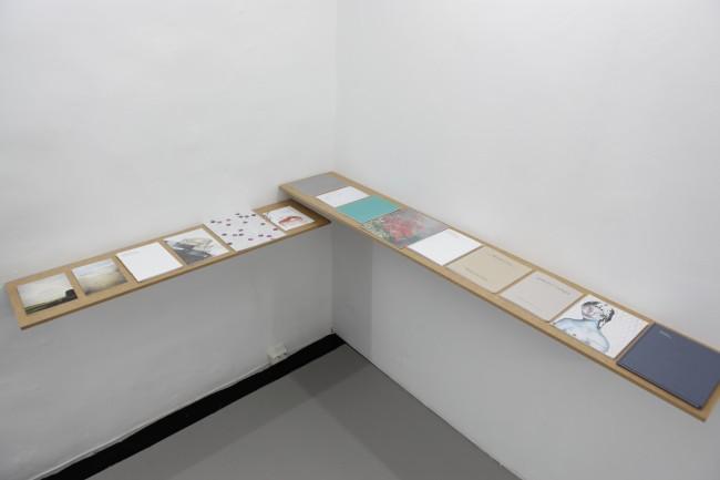 David Schoerner installation view at MELK