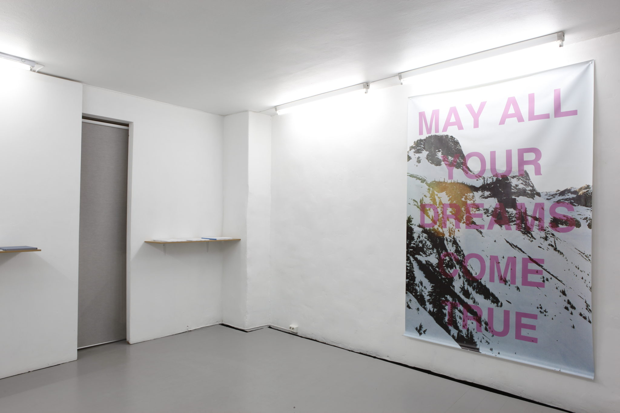 David Schoerner installation view at MELK