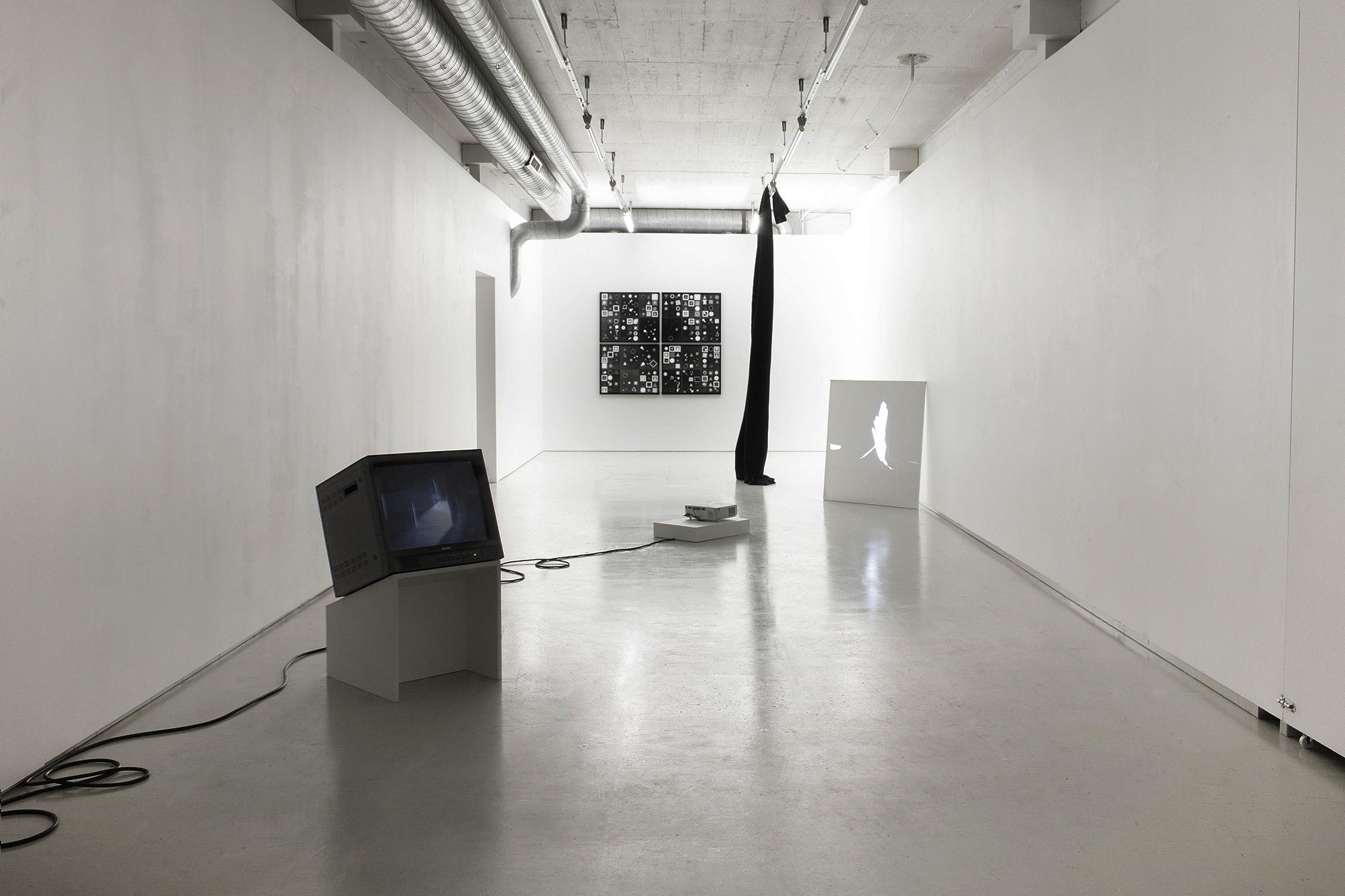 Emil Salto - Untitled Drama - Installation view