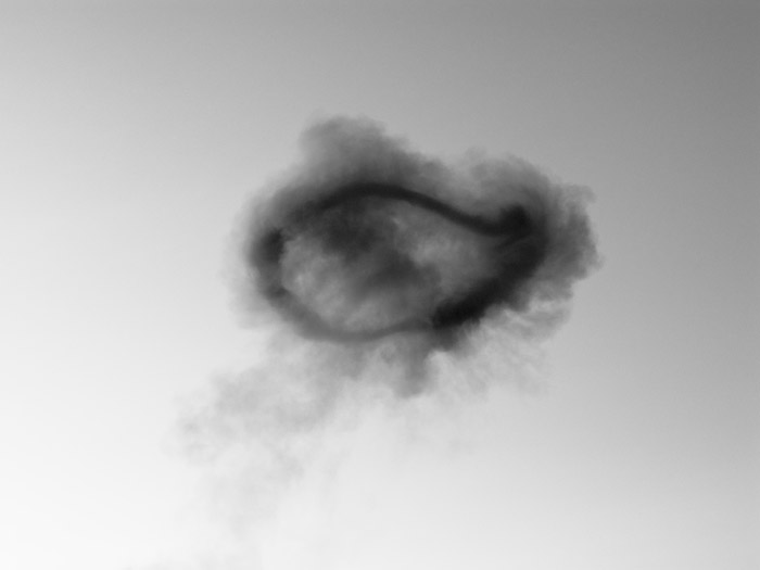 Mårten Lange - Smoke ring 2012 - 15 x 11,25 cm - Archival pigment print - From Another Language