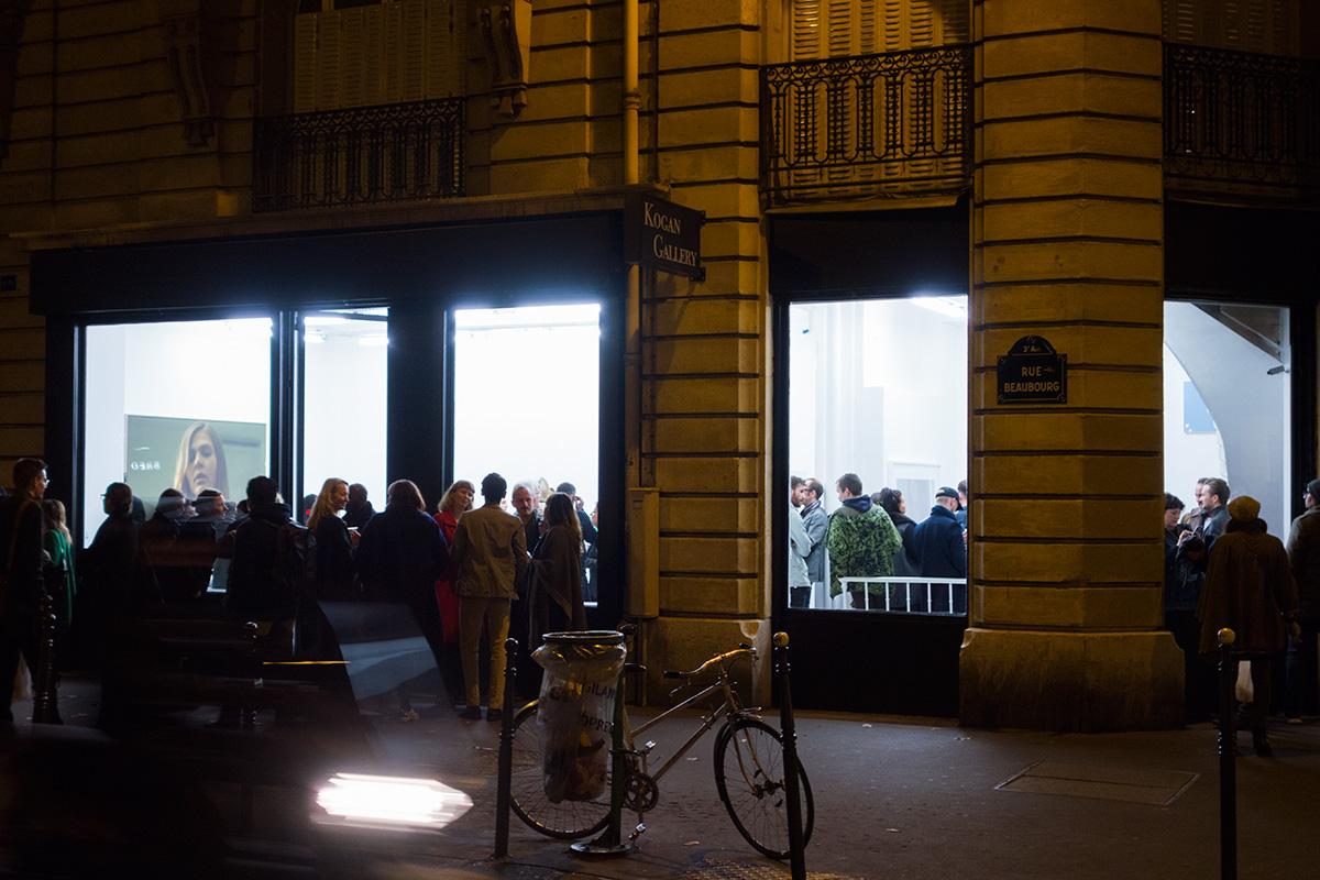 Opening night in Paris