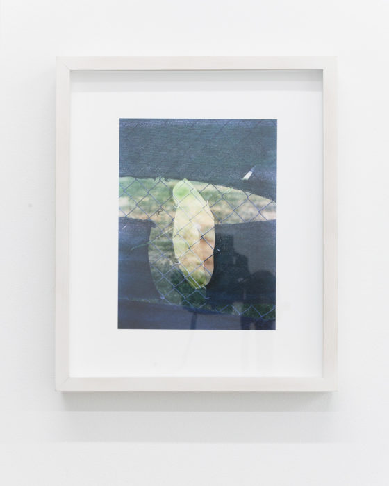 Nicholas Gottlund - Double Fence - 2014 - C-print 20,3x15,2 cm image 30,5x25,5 cm sheet