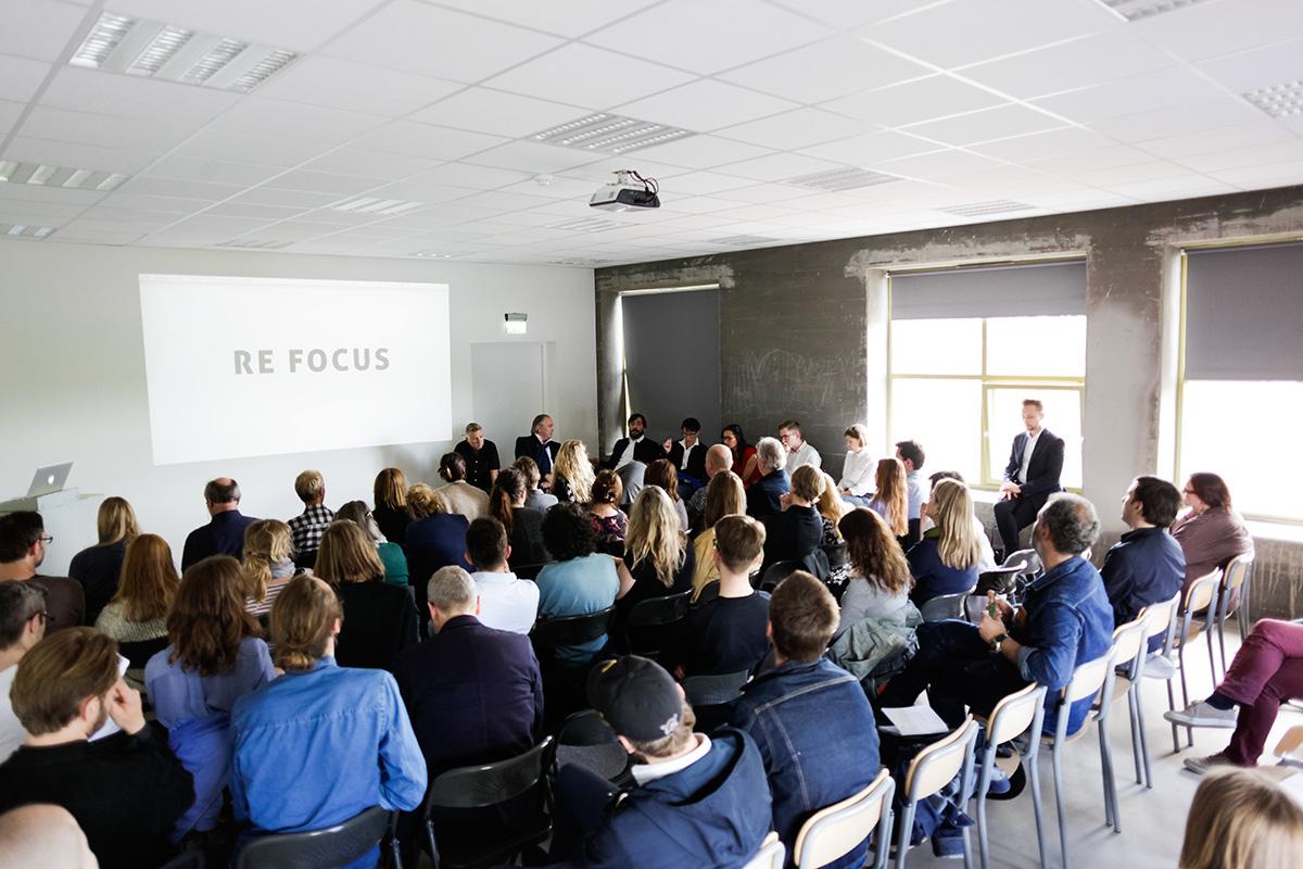 Re Focus - Symposium on photography at Vestfossen Kunstlaboratorium May 29 2015