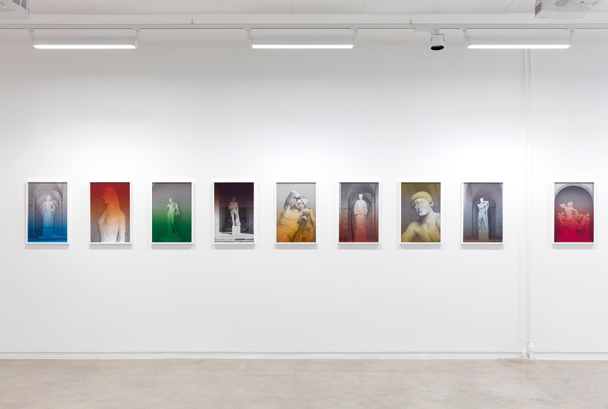 Espen Gleditsch at Golsa, curated by MELK 2018