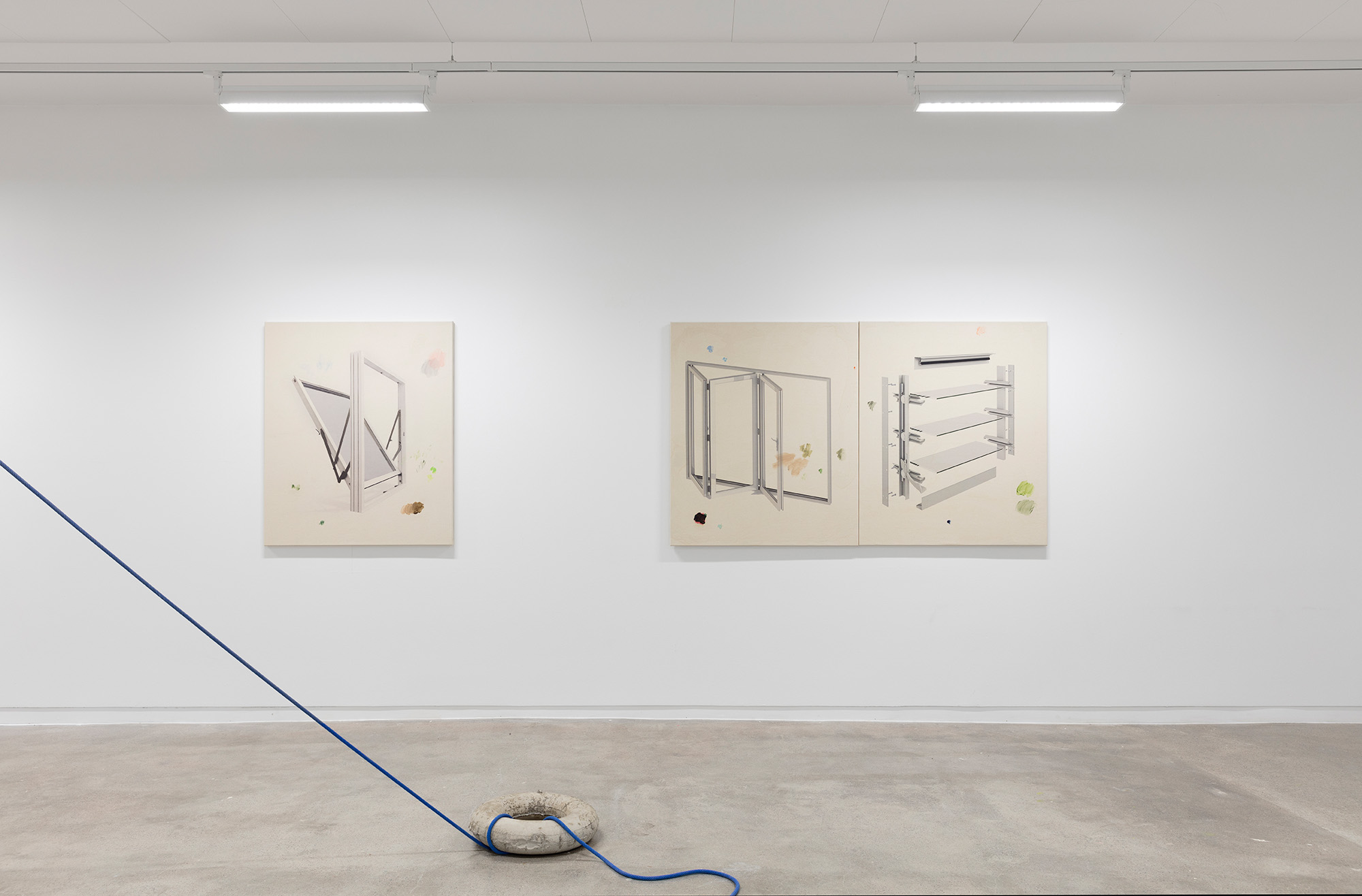 Linn Pedersen and Ole Martin Lund Bø at Golsa, curated by MELK 2018